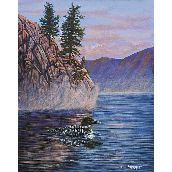 Granite Paint Loon - Original